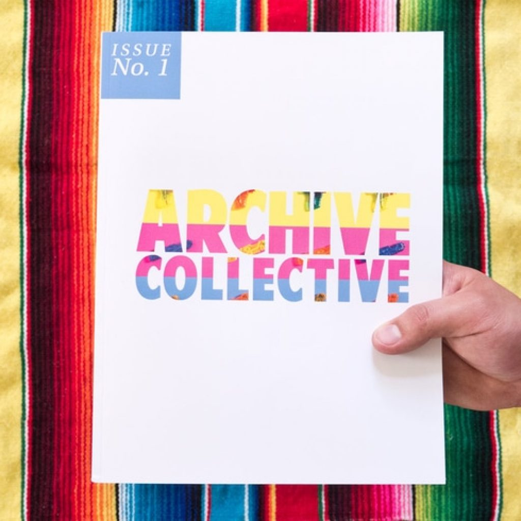 Magazine Cover of The Archive Collective